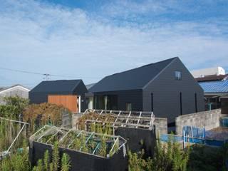 Rumah kayu oleh 伊藤憲吾建築設計事務所, Asia