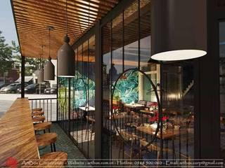 Thiết kế nội thất quán cafe Golden Coffee Thiết Kế Nội Thất - ARTBOX