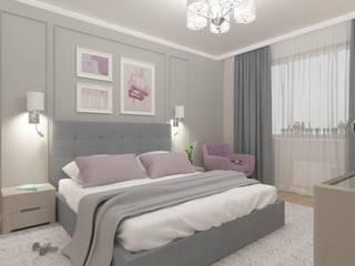 Квартира в Голосеевском районе Спальня в эклектичном стиле от Торохтий Елена Эклектичный