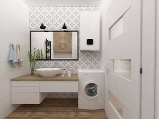 Дизайн квартиры в Киеве Ванная комната в скандинавском стиле от Торохтий Елена Скандинавский