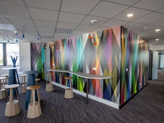Agencement et décoration de bureaux Espaces de bureaux modernes par Nuance d'intérieur Moderne
