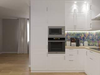 кухня икеа в загородном доме Кухня в скандинавском стиле от Евгения Ковалева Скандинавский