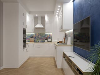 кухня икеа в загородном доме от Евгения Ковалева Скандинавский