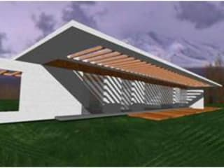 Casa H de UP arquitectos Minimalista