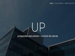 UP Obras Estudios y oficinas minimalistas de UP arquitectos Minimalista