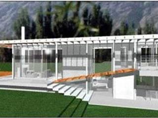 Casa T de UP arquitectos Minimalista
