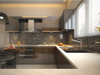 Monnaie Interiors Pvt Ltd Kitchen