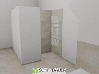 Moderne badkamers van Fliesen Schiffbauer Modern