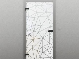 Glastüren - Teilsatiniert: modern  von TÜR-AUS-GLAS,Modern