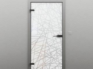 Glastüren - Vollsatiniert: modern  von TÜR-AUS-GLAS,Modern