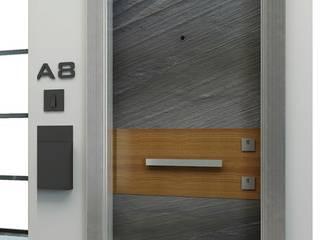 Çalık Konsept Mimarlık – Falez Çelik Kapı: modern tarz , Modern