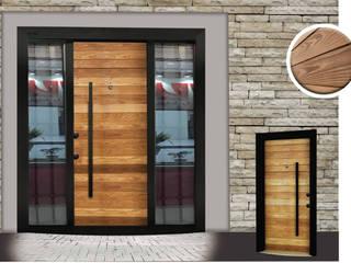 Çalık Konsept Mimarlık شبابيك و أبوابأبواب خشب Wood effect