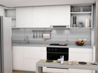 Plano 13 Small kitchens Plywood White