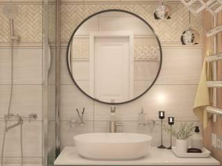 Zhanna Kazakova Classic style bathroom Beige