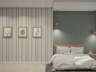 Zhanna Kazakova Minimalist bedroom