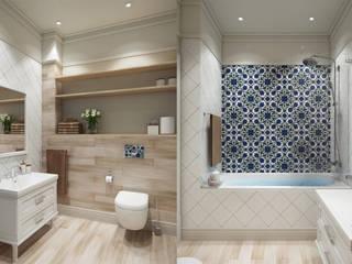 Дизайн квартиры EuroKvartira Ванная в классическом стиле