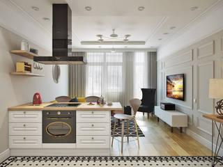Дизайн квартиры EuroKvartira Кухонные блоки