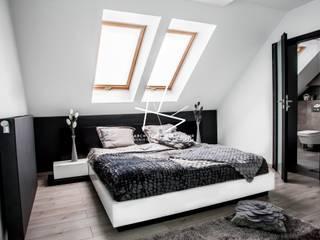 nowoczesne wnętrze domu/ l'intérieur moderne od Agnieszka Kobialka-Suszek Nowoczesny