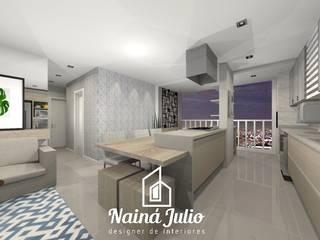 UNICCO BELA VISTA - DESIGN DE INTERIORES por Nainá Julio - Designer de Interiores