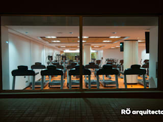 RÖ | ARQUITECTOS Modern stadiums Orange