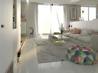 簡約北歐 親子宅 傾瀉一抹慵懶 親子溫馨好時光 根據 雅和室內設計 北歐風