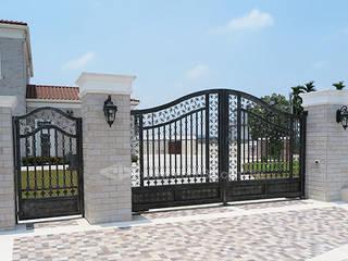 鍛造大門.玄關門/防盜窗專業設計施工 正邦建材實業有限公司 窗戶與門門