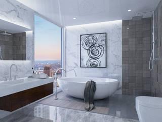 Render Interior Baño de J.A. Render
