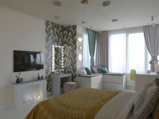 Комната для молодой девушки подростка Спальня в эклектичном стиле от юлия солопчук J.Solo.Design Эклектичный