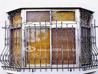 鍛造大門.玄關門/防盜窗專業設計施工 正邦建材實業有限公司 窗戶與門窗戶