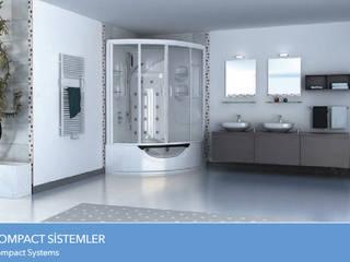 Çalık Konsept Mimarlık Salle de bainBaignoires & douches Blanc