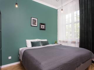 Och_Ach_Concept Kamar tidur kecil Green