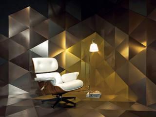 Dvne Kantor & Toko Modern Aluminium/Seng Amber/Gold