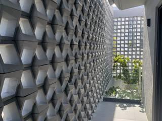 de Muro Blanco Concreto