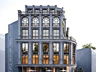 Thiết kế kiến trúc biệt thự Lâm Hạ Thiết Kế Nội Thất - ARTBOX
