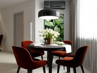 Цвет имеет значение Столовая комната в эклектичном стиле от Art Family Эклектичный
