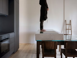 Casa Giusta Cucina moderna di LDA.iMdA architetti associati Moderno