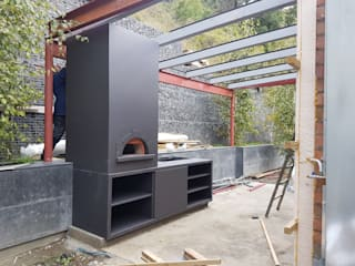 Veripla Systems Garden Fire pits & barbecues Besi/Baja Grey