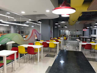 Project in Gurugram Modern offices & stores by Niveeta Corp Modern