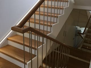 DEKODİZAYN pirinç mob. dek. ltd. şti. Stairs Wood Wood effect