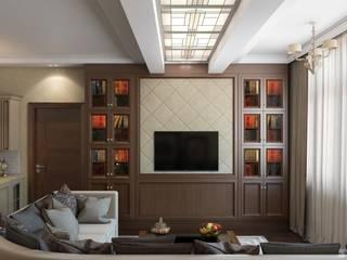 Salas / recibidores de estilo  por Технологии дизайна, Clásico