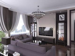 Eclectic style living room by Технологии дизайна Eclectic