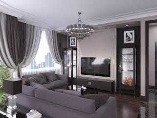 Salas / recibidores de estilo  por Технологии дизайна, Ecléctico