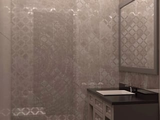 Eclectic style bathroom by Технологии дизайна Eclectic
