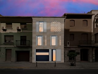 Barreres del Mundo Architects. Arquitectos e interioristas en Valencia. Single family home Ceramic Beige