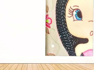 Painel de Parede - Linha Meninas Jo Moura Pintura Kids Parede e pavimentoDecoração de parede Concreto Multi colorido