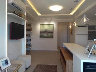 Moderne Wohnzimmer von Paula De Zorzi | Design + Interiores Modern
