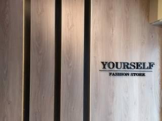 Industrialer Flur, Diele & Treppenhaus von Paula De Zorzi | Design + Interiores Industrial