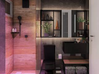 Baños de estilo industrial de IEZ Design Industrial