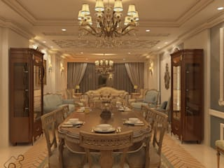 Classic style dining room by Puzzle Classic