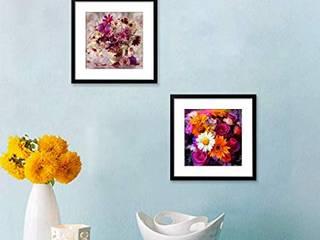 Framed Set For Bedroom: minimalist  by WallMantra,Minimalist